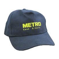 Бейсболки с логотипом компании ООО «МЕТРО Кэш энд Керри» от «Дельфин - море сувениров»