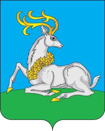 Современный герб города Одинцово.