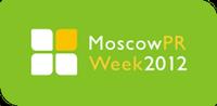 Логотип MoscowPRWeek2012