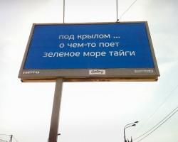 Наружная реклама компании «Самолёт Девелопмент», 2014 год. Фото: Сергей Зимин/РБК.