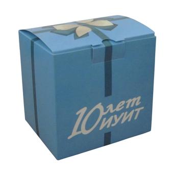 Коробки с конфетами для ГОУ ВПО «Московский государственный университет путей сообщения» от компании «Дельфин»