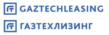 Русское и английское начертания логотипа компании «Газтехлизинг», 2014 год.
