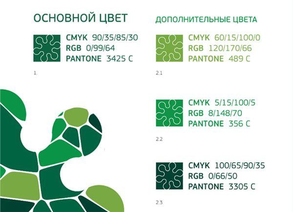 Цветовая кодировка графического элемента