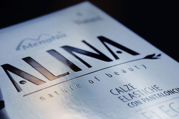 Новый логотип марки «ALINA». Заказчик - компания MENGNA, разработчик - брендинговое агентство RUNWAY BRANDING, 2012г.