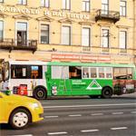 Реклама на транспорте: автобусы превратили в трейлеры