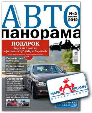 Совместная акция журнала «Автопанорама» и сети фитнес-клубов «Марк Аврелий»
