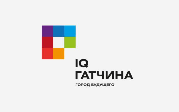 Логотип жилого микрорайона «IQ Гатчина», 2013 год