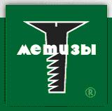 логотип розничной сети «метизы».