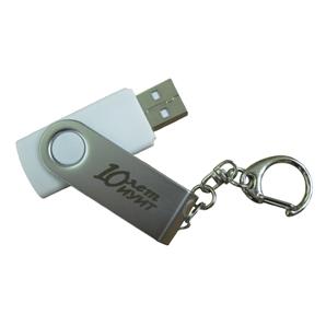 USB-флэш-карты с логотипом ГОУ ВПО «Московский государственный университет путей сообщения» от компании «Дельфин»