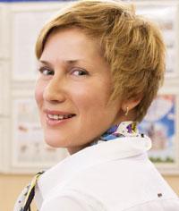 Галина Чайковская, директор по маркетингу Оптоклуба РЯДЫ