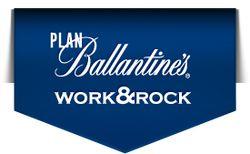 Логотип конкурса «Plan Ballantine's WORK&ROCK»