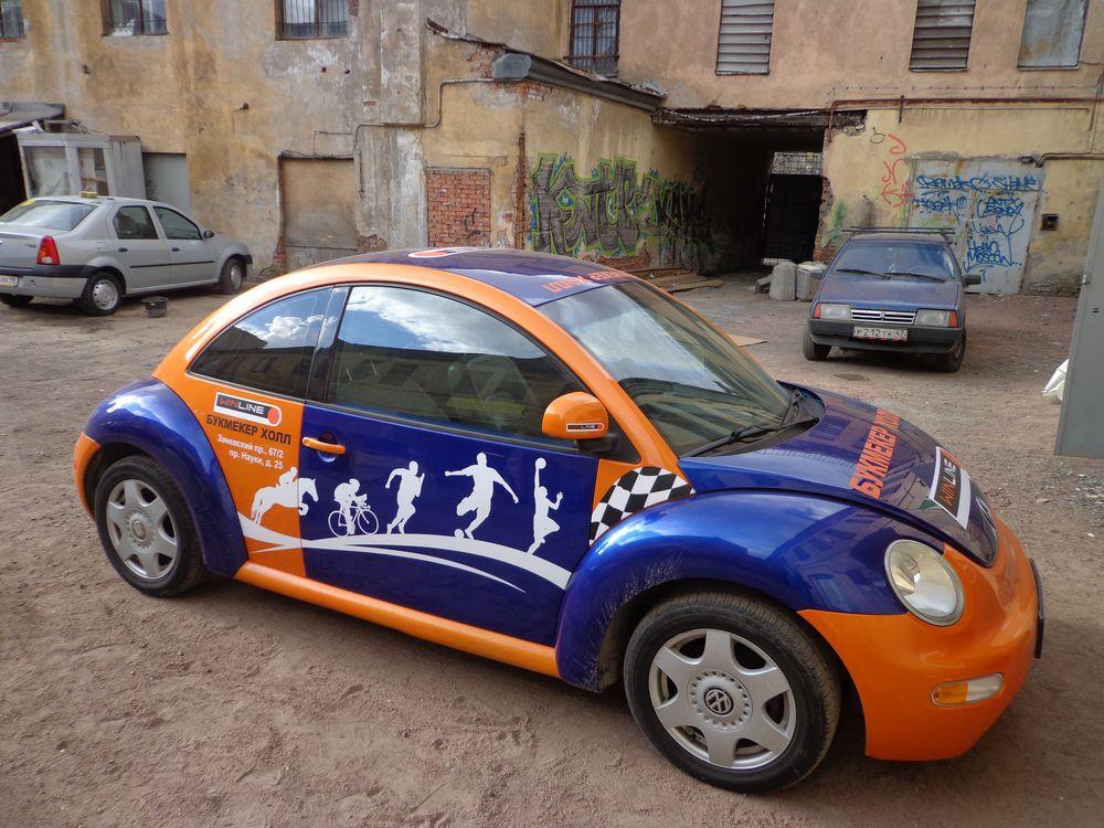 Наклейки на авто своего дизайна